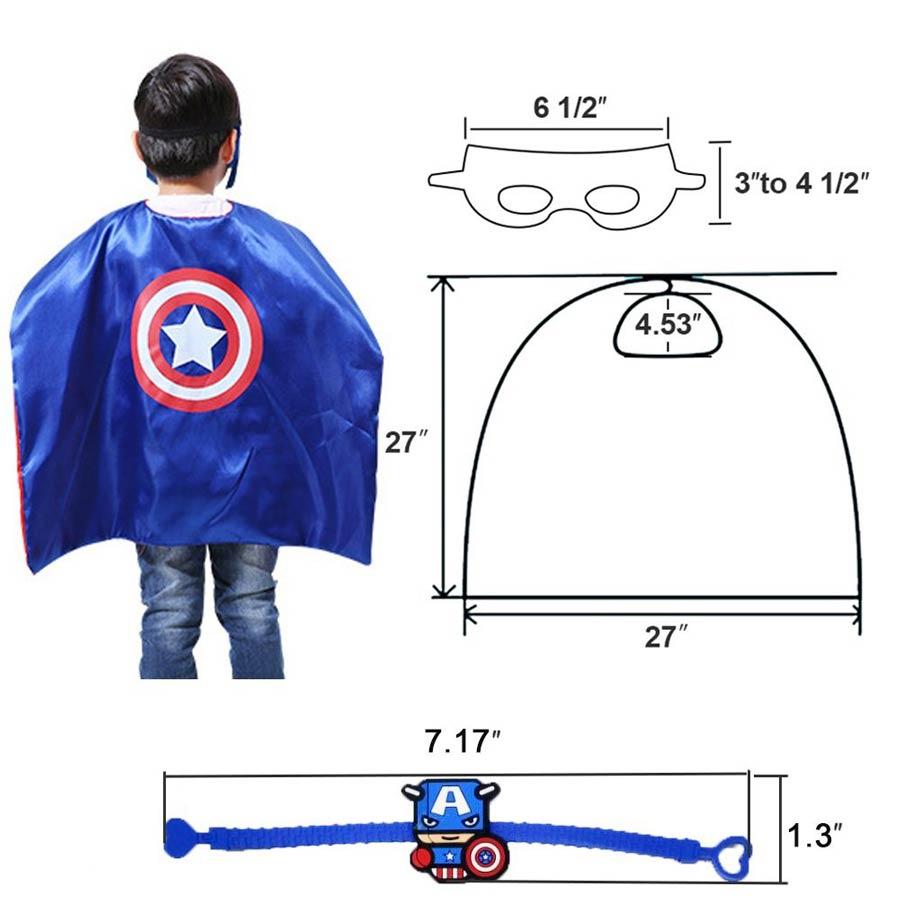 mejores ofertas mascaras de superheroes niños