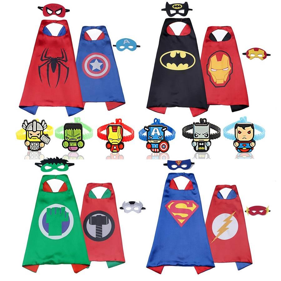 mascaras de superheroes para niños