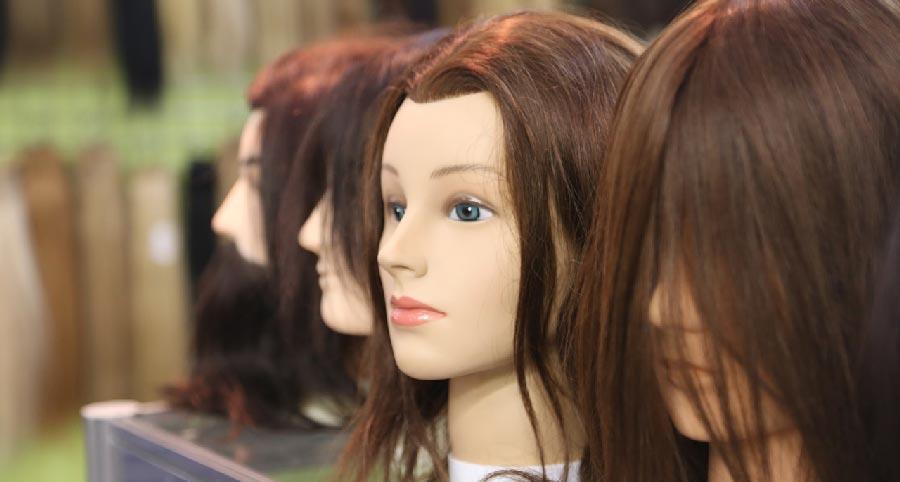 cabeza estándar de peluquería