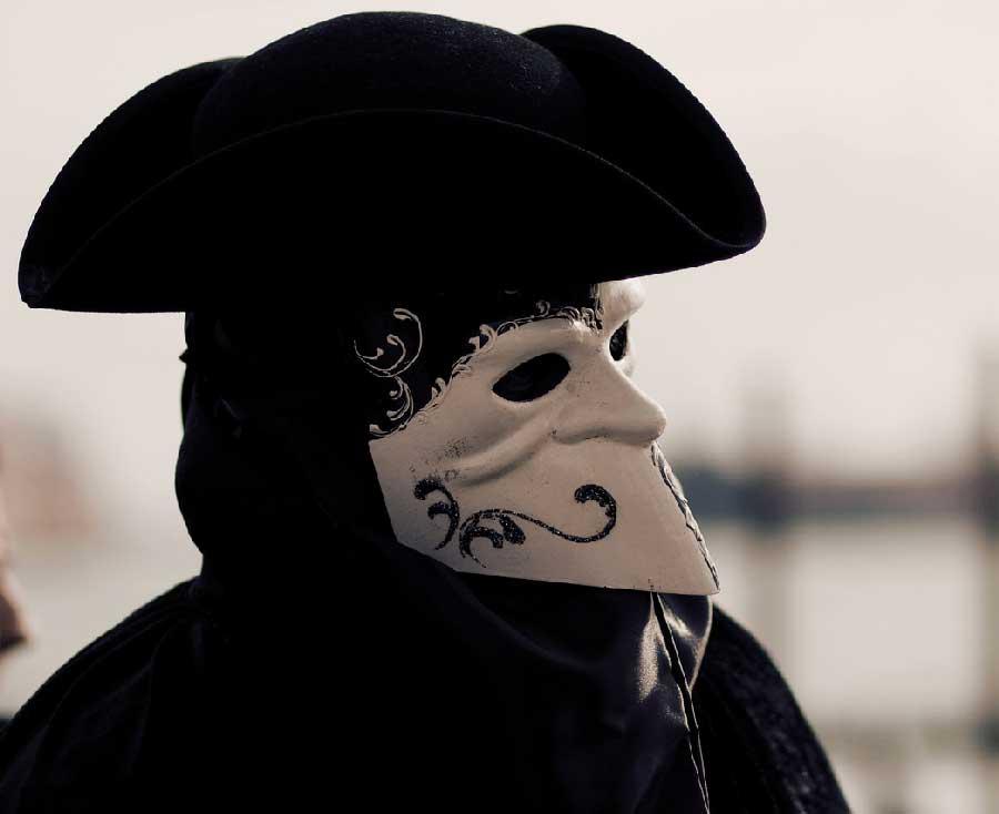 comedia del arte mascaras