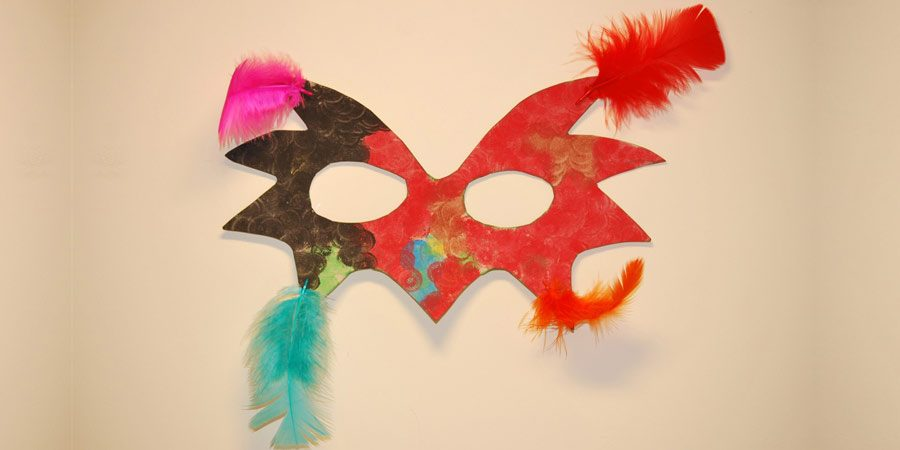 mascaras de papel craft