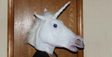 mascaras de unicornio
