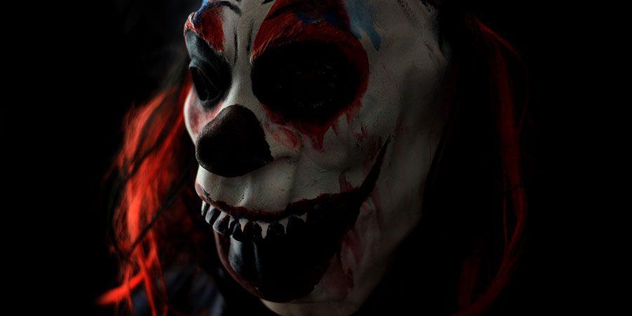 mascaras de latex payasos diabolicos