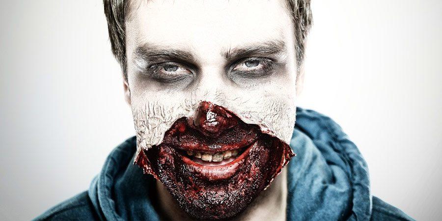 mascaras de zombies reales