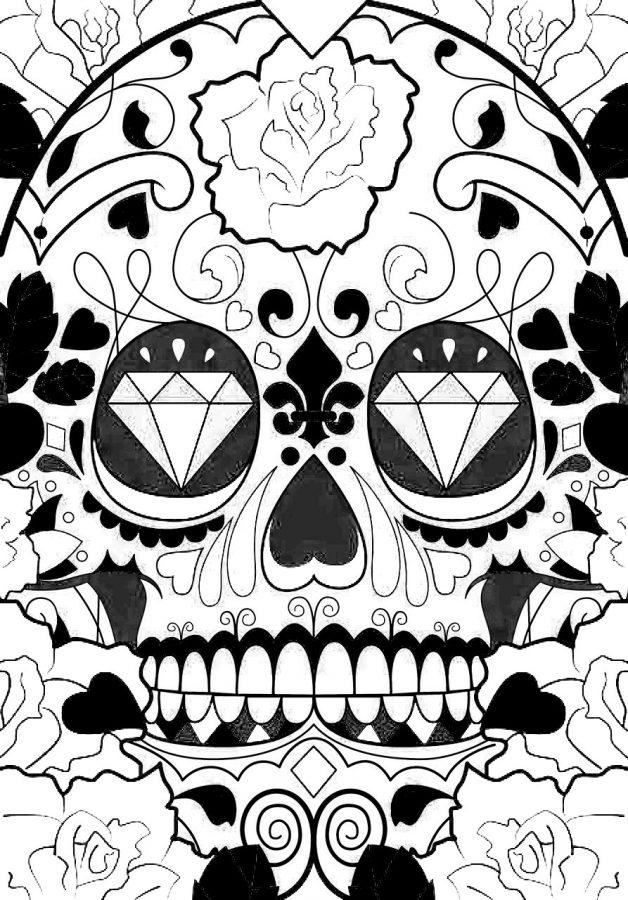 mascara de catrina mexicana