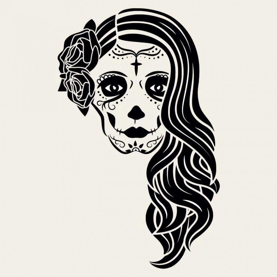 como pintar una mascara de catrina